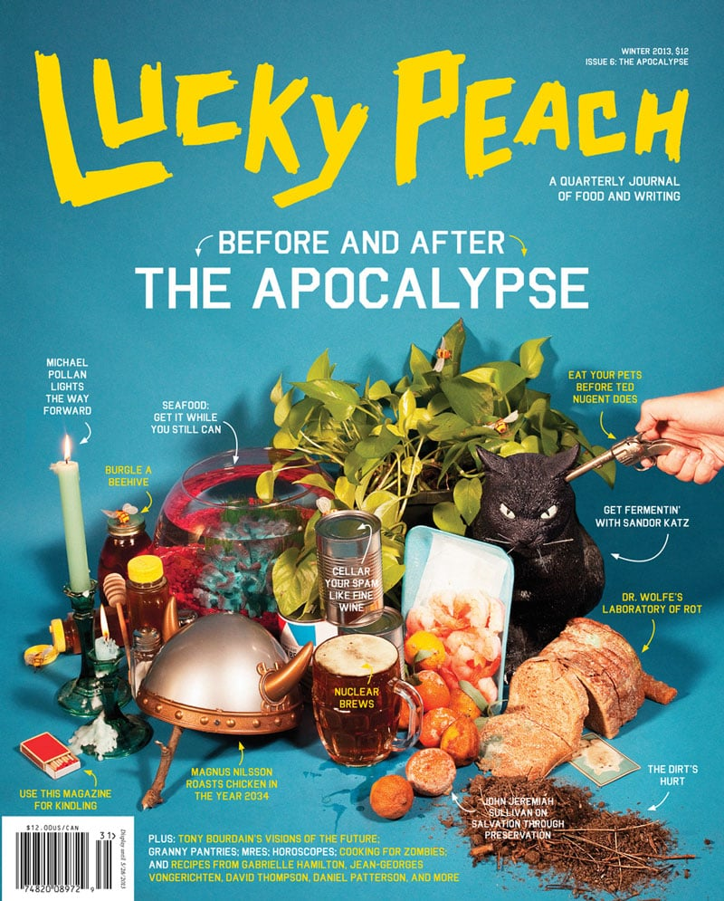 lucky peach inspiration