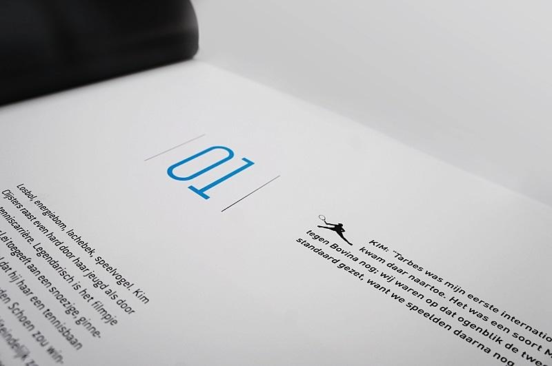 طراحی کتاب الهام بخش - کتاب تنیس 1