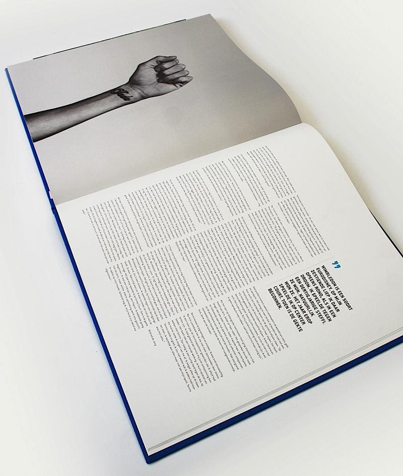 Inspiring Book Design - Tennis Book 2