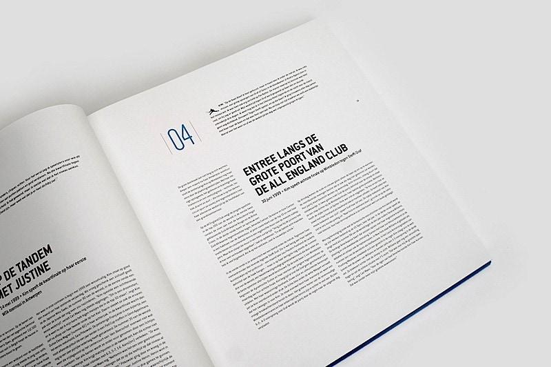 طراحی کتاب الهام بخش - کتاب تنیس 3