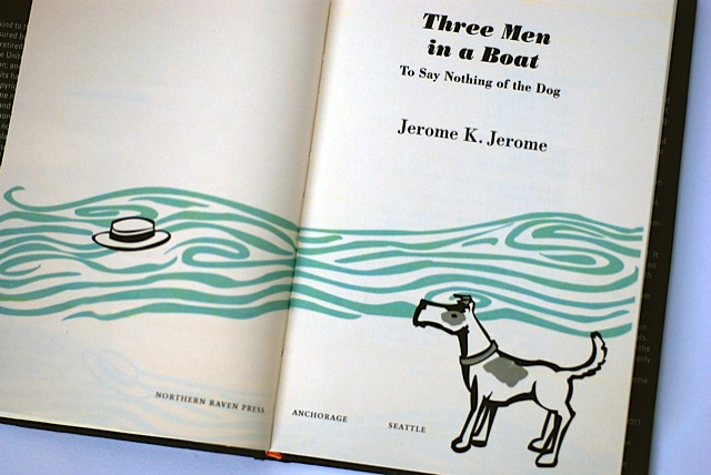 Inspiring Book Design - Three Men and a Boat 2