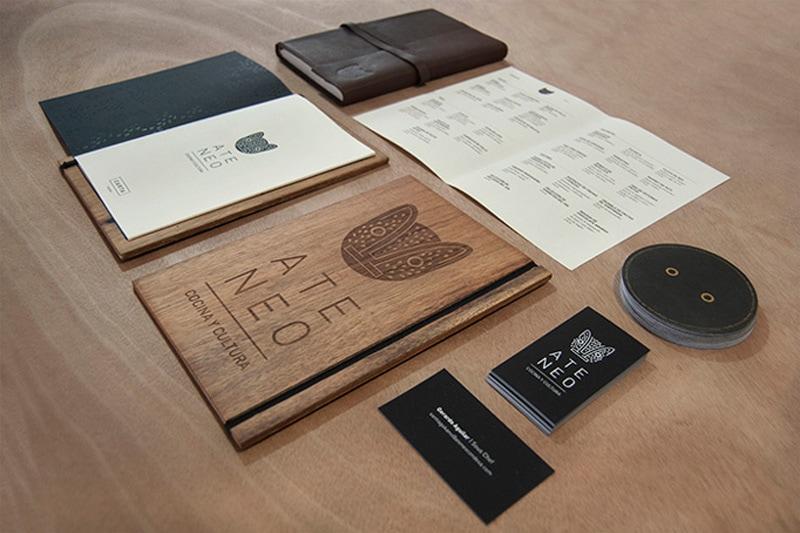 ateneo condesa menu design indesign