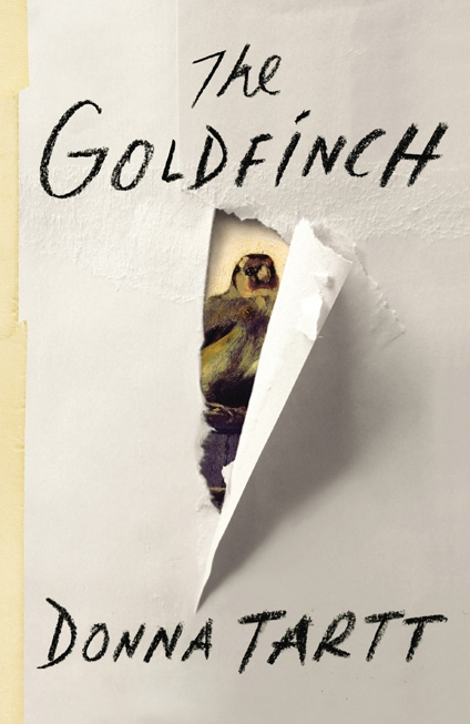 The Goldfinch Cover - Donna Tartt