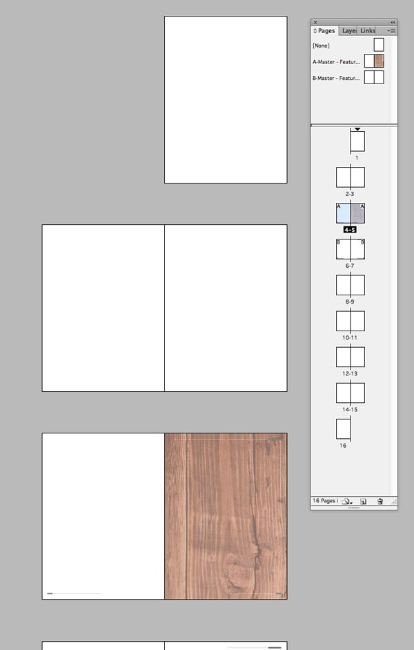 magazine layout design indesign