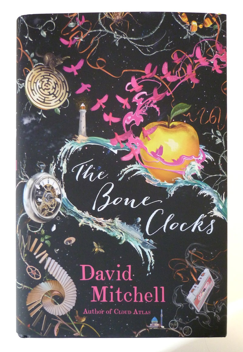 bone clocks david mitchell cover design