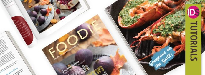 magazine layout design indesign