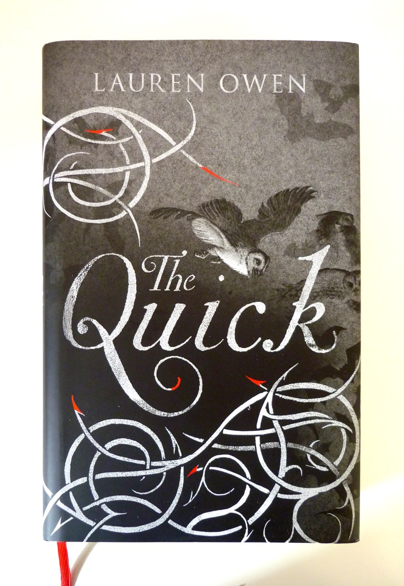 the quick lauren owen jonathan cape book cover design jim kay