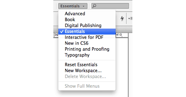 pages panel indesign basics