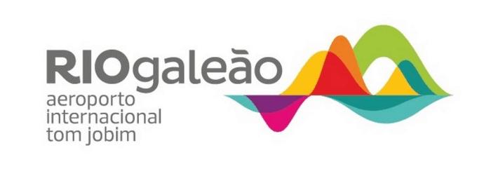 Rio Galeao Typographic Logo