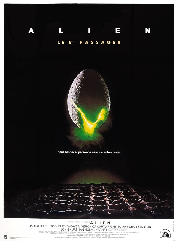 alien movie posters typography spacing leading how did they do that indesign skills