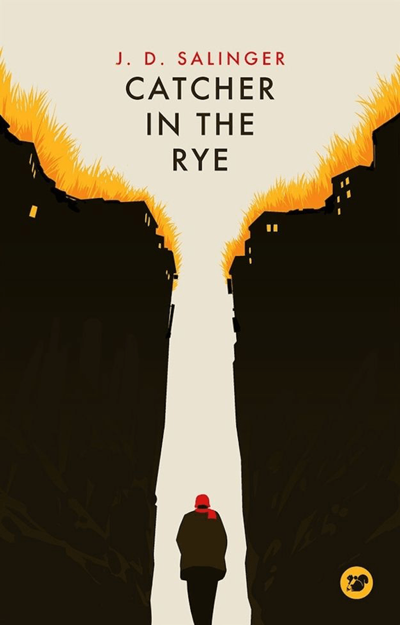 penguin classic catcher in the rye gill sans fonts typography for book covers