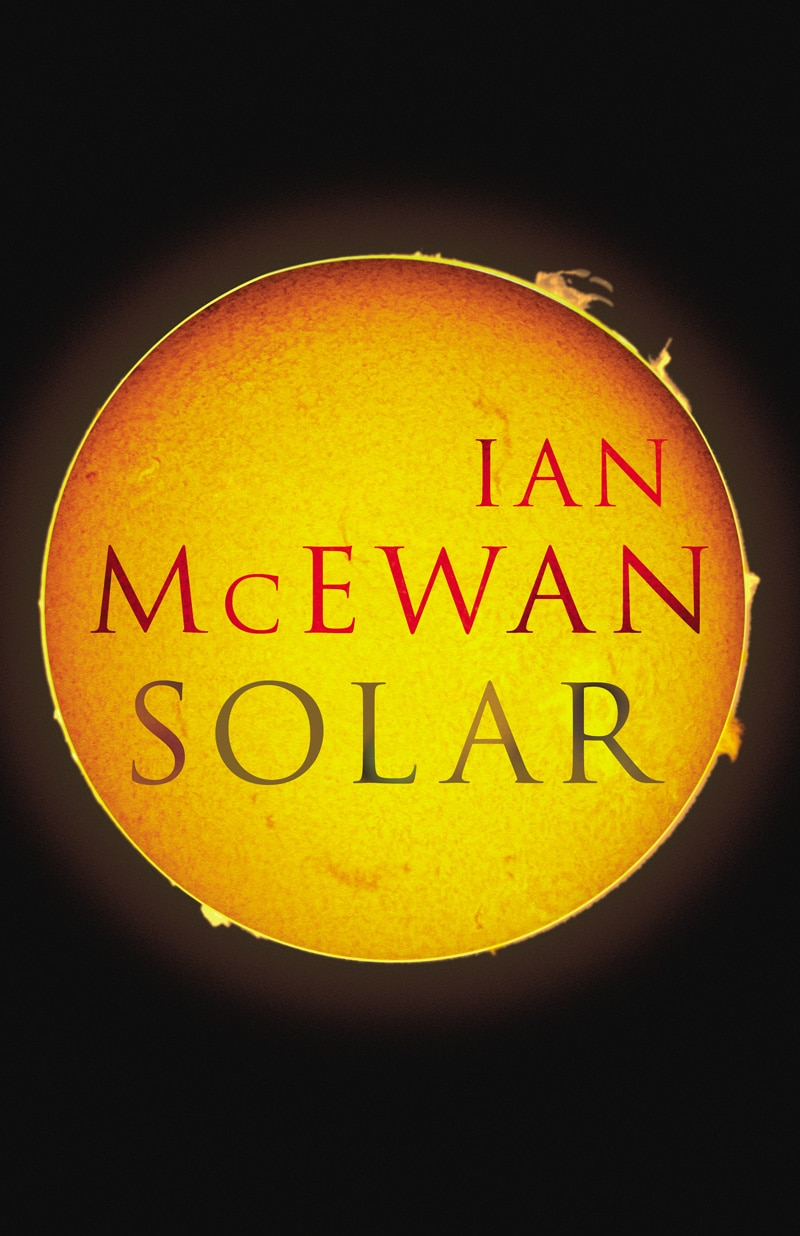 ian mcewan solar trajan pro typography fonts for book covers