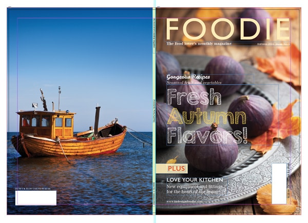 indesign packaging file package files magazine
