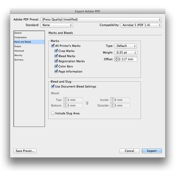 indesign skills basics tutorials bleed inside edge pdf