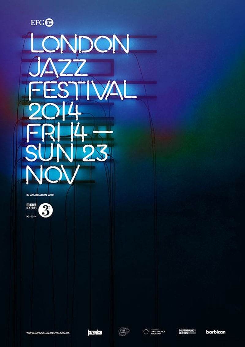 flyer design promotional marketing london jazz festival