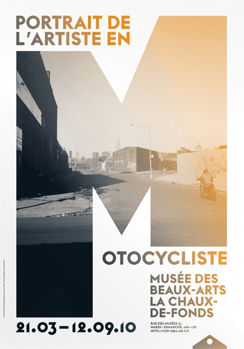 poster design exhibition onlab indesign