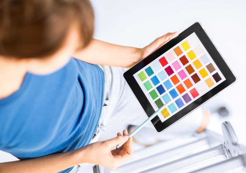 pantone RGB CMYK Spot color colour indesign