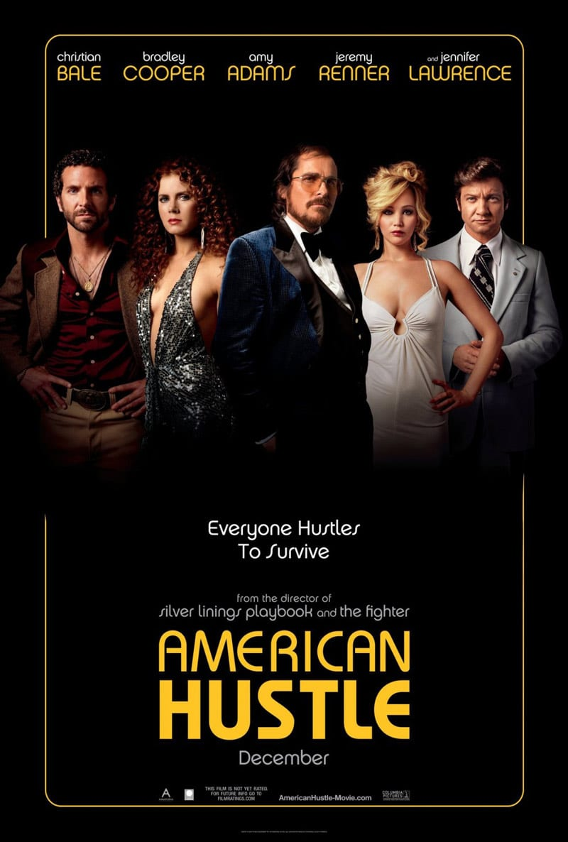 american hustle jennifer lawrence poster design movie indesign