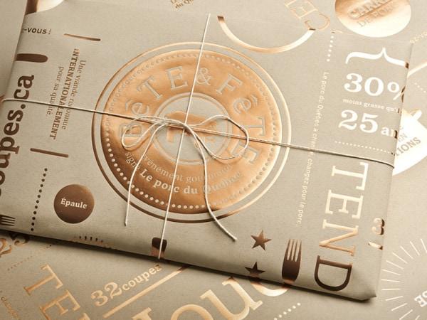 indesign color metallic bronze bete et fete