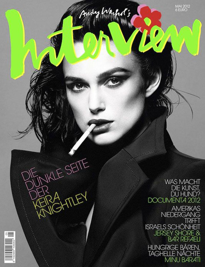 indesign color print design keira knightley interview magazine