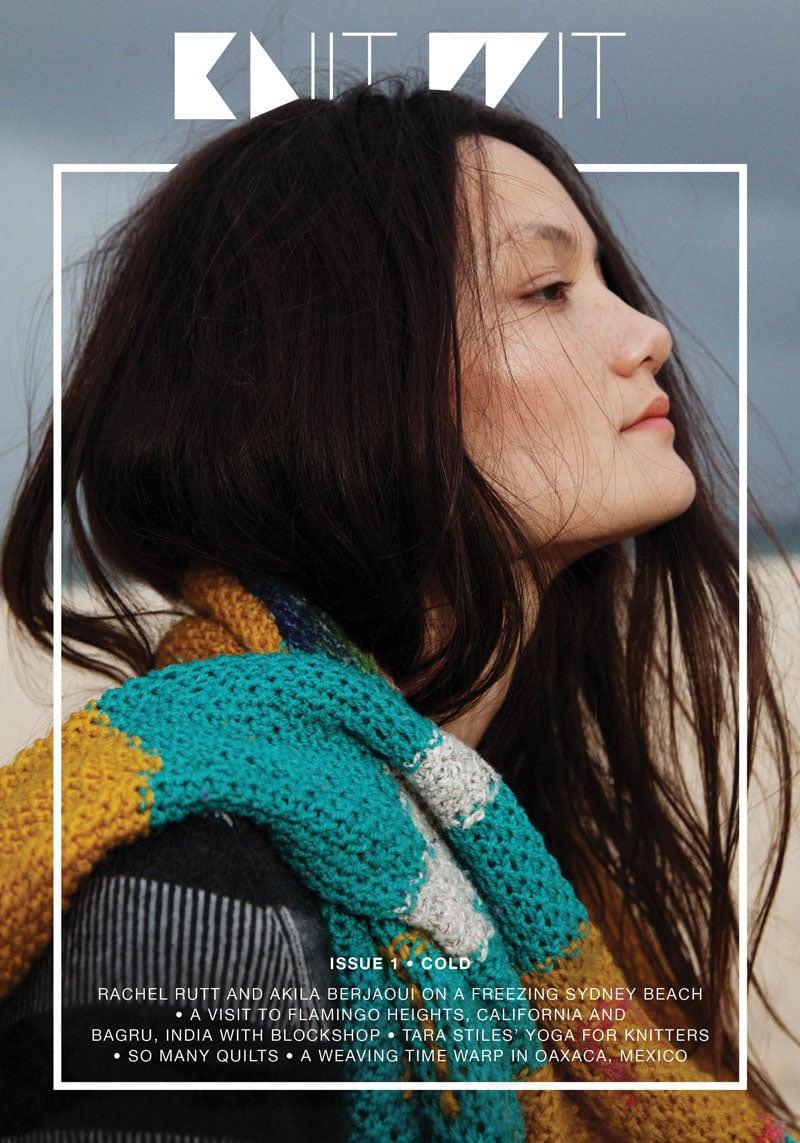 magazine cover design inspiration indesign knit wit