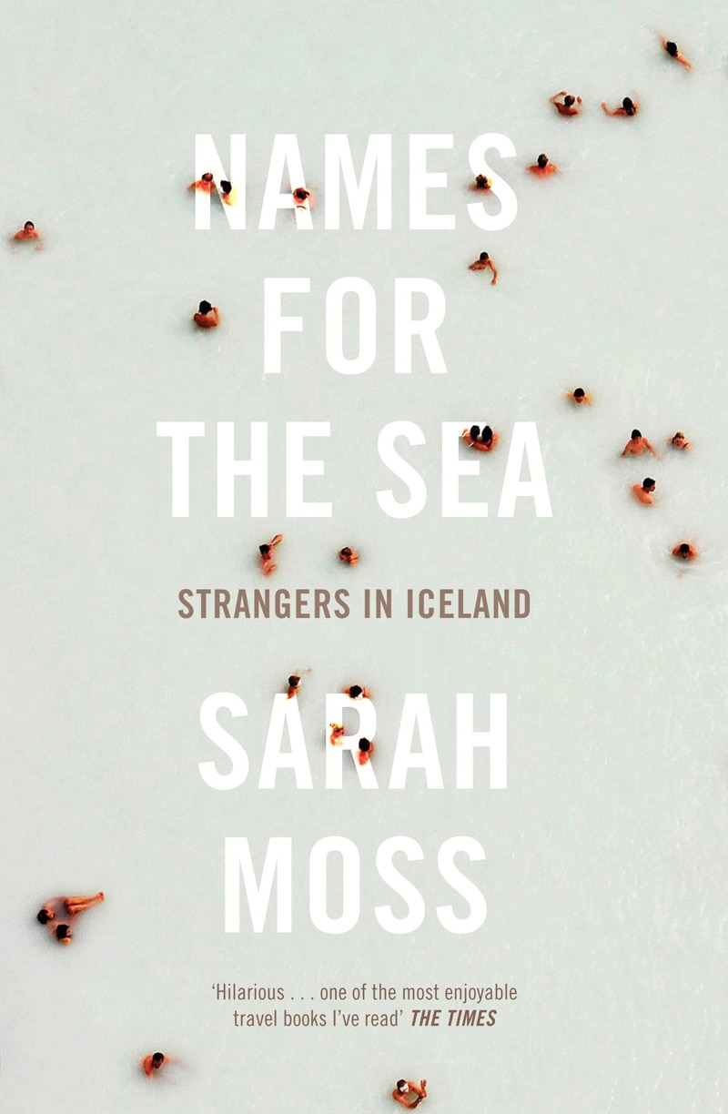 indesign book cover design names for the sea sarah moss aerial photo