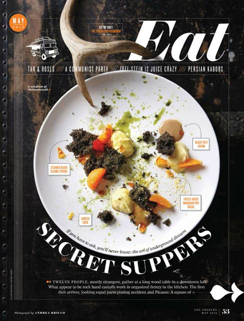 magazine cover design inspiration indesign eat typography