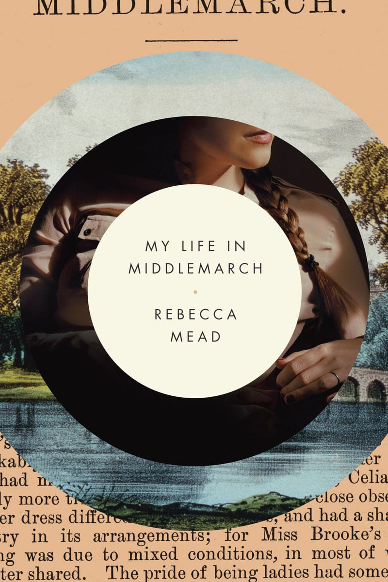 indesign inspiration flat design middlemarch rebecca mead book cover