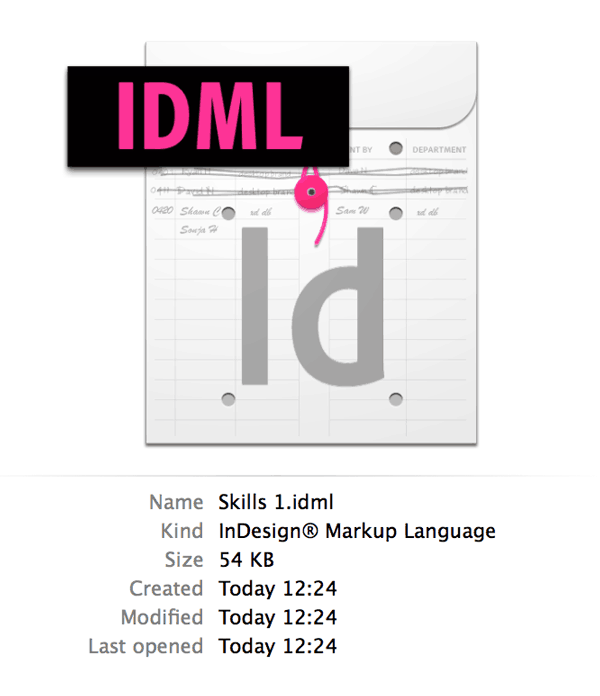 Which File Format? How to Open InDesign Files in CS4, CS5, CS6 and CC