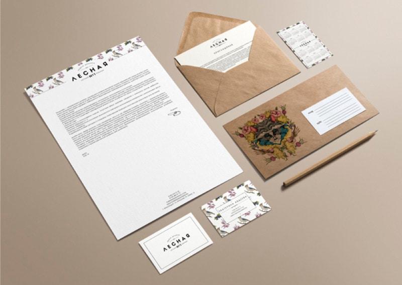 indesign inspiration stationery branding letterhead business card envelope