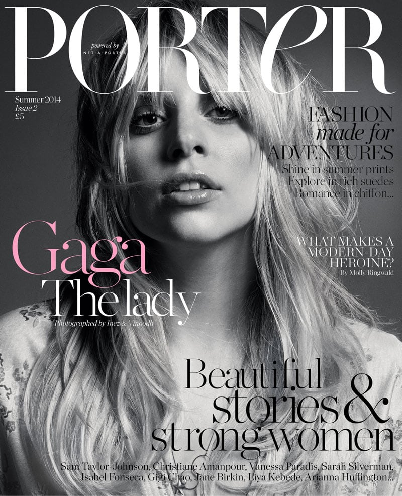 magazine cover fonts fashion porter