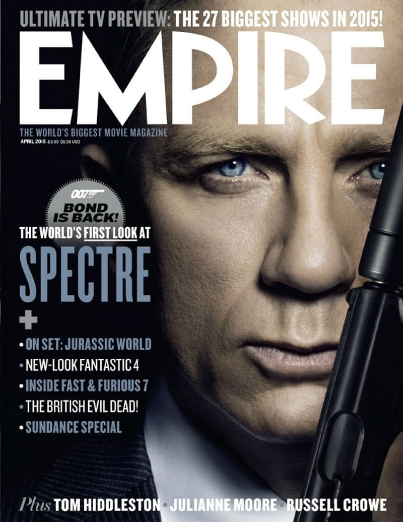 magazine cover fonts entertainment film