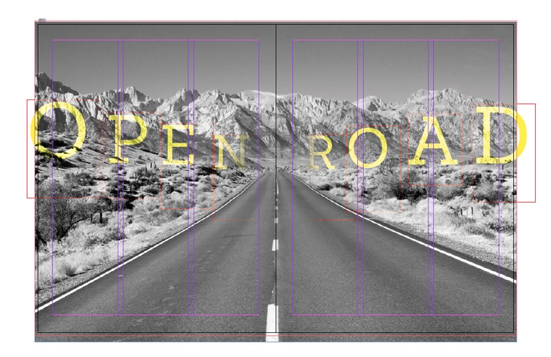 working with photos layouts indesign photography graphic design black-and-white photo