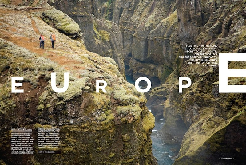 indesign photography layout inspiration photo cool bryan j nanista mountaineering lifestyle magazine