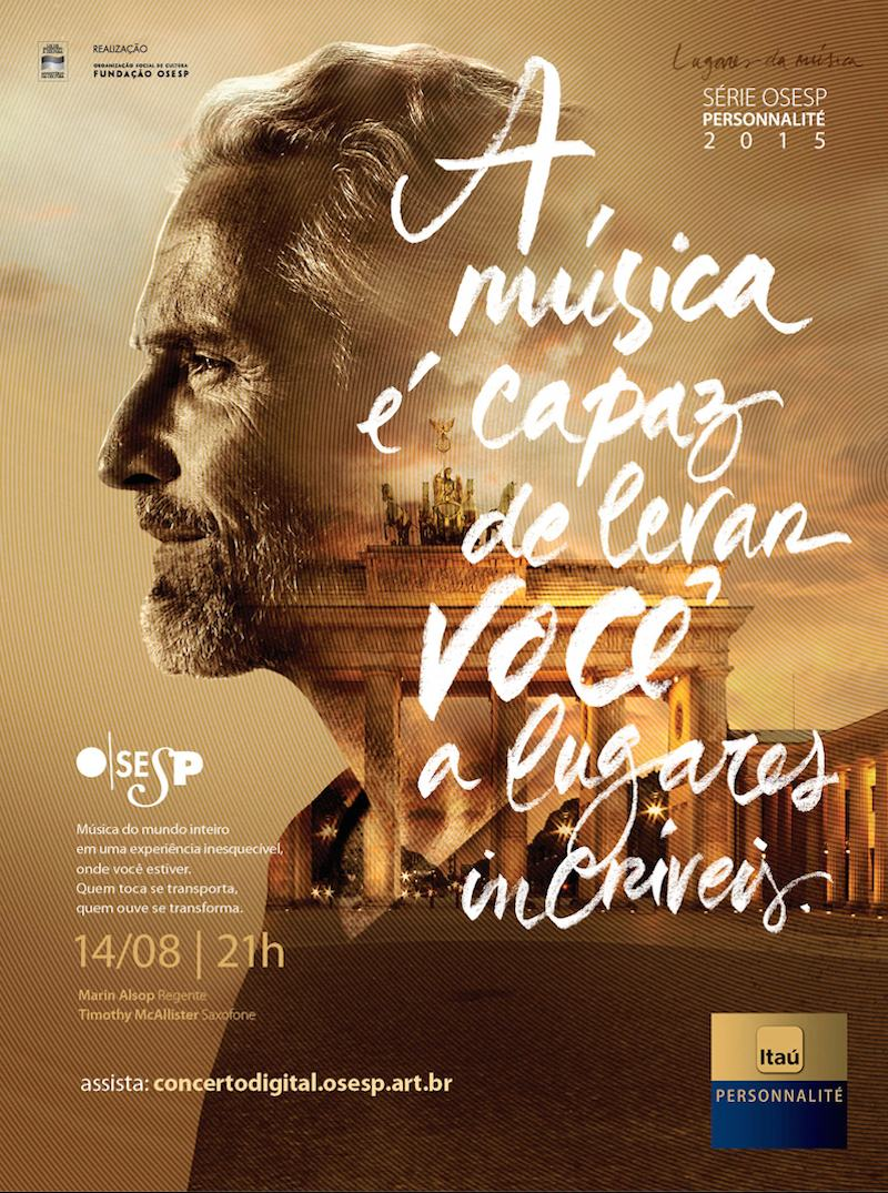 indesign photography layout inspiration photo cool OSESP music poster