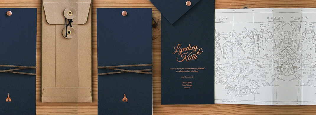 Modern Wedding Invitations - Creative Design Ideas
