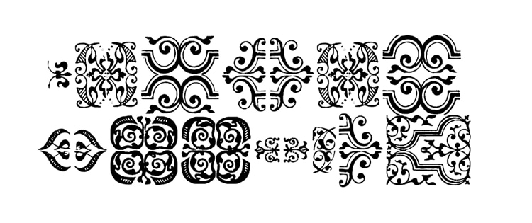 typography secrets fonts with great best glyphs symbols graphics im fell flowers 1