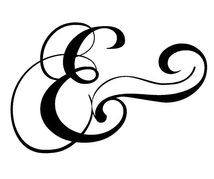 Ampersand typography