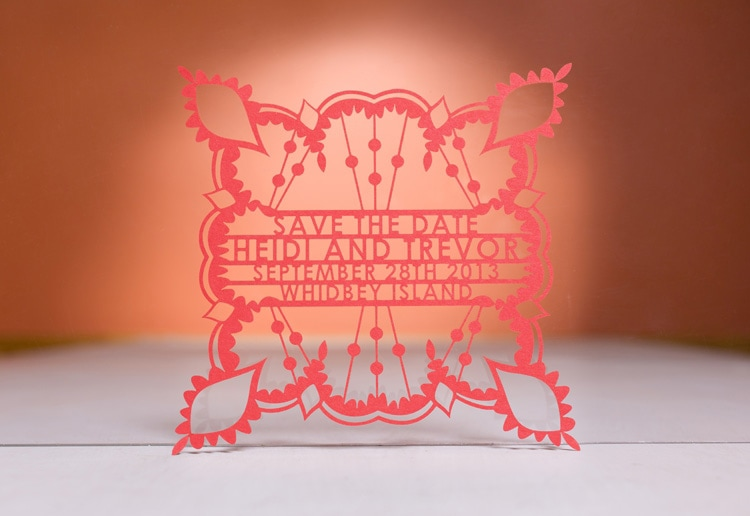 post-print effects graphic design print design die cutting laser cut