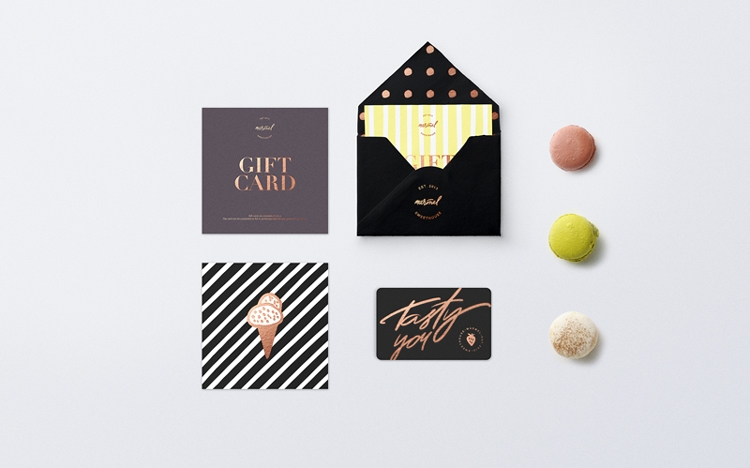 indesign inspiration food packaging design marmel sweets confectionery bakery france logo branding