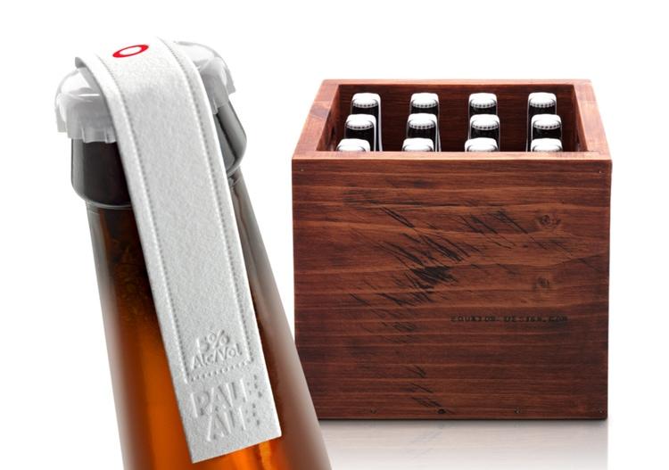equator beer branding letterpress modern brand design logo