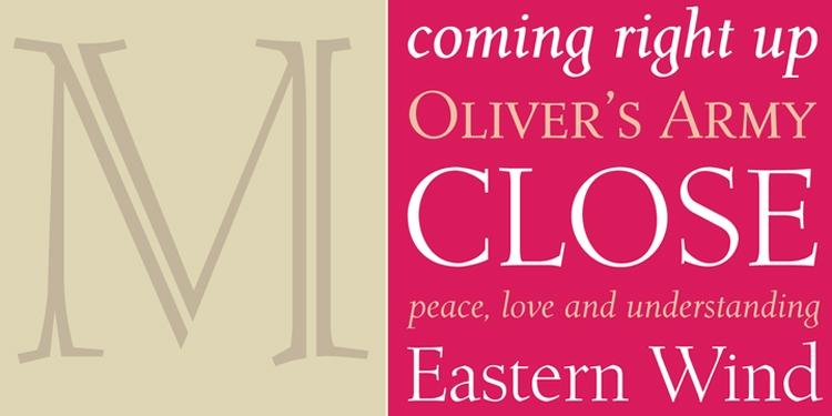 vintage retro authentic fonts era fifties mid-century retro roos