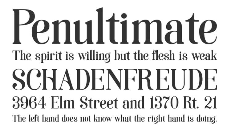 vintage retro authentic fonts era art nouveau soria