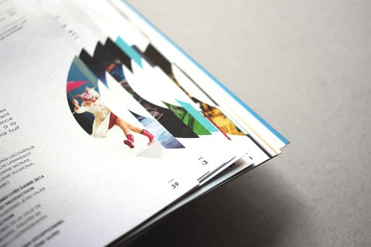 catalogue booklet lookbook design layout inspiration marketing catalogue catalog programme events saint etienne opera house