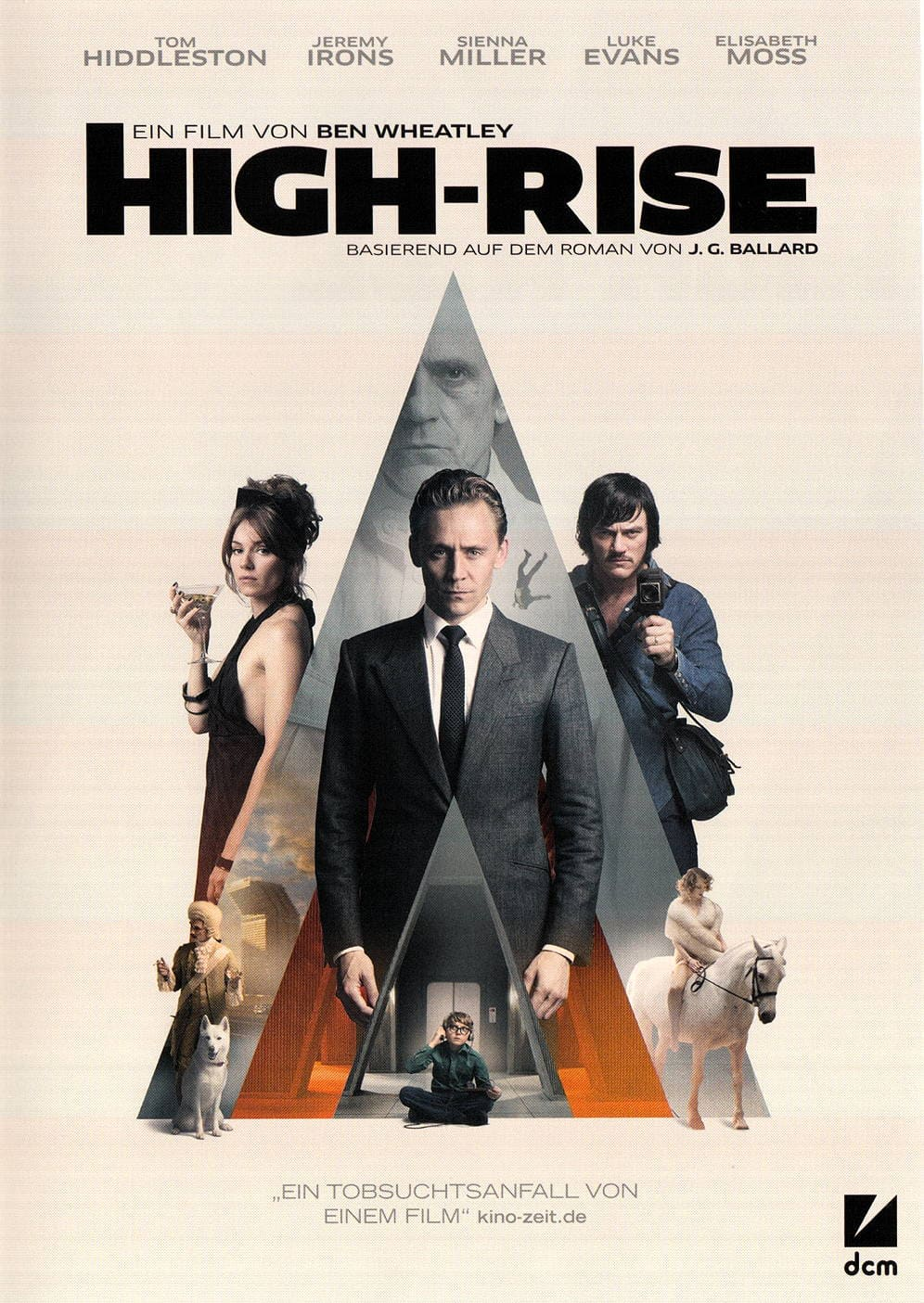 2017 graphic print design trends modern collage movie poster high-rise