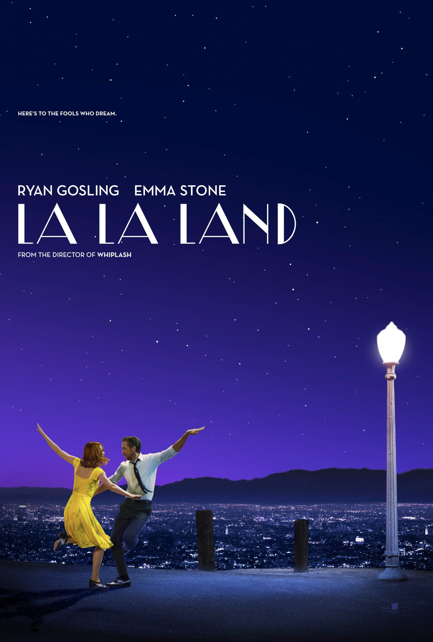 movie poster fonts typography typefaces design la la land