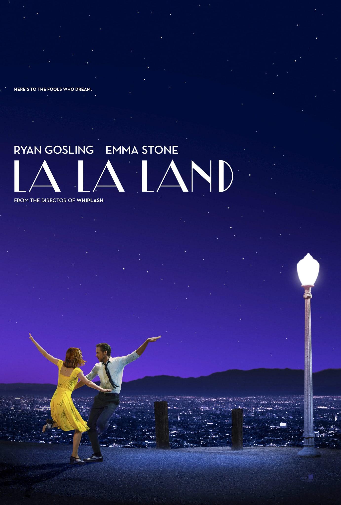 movie poster fonts typography typefaces design la la land