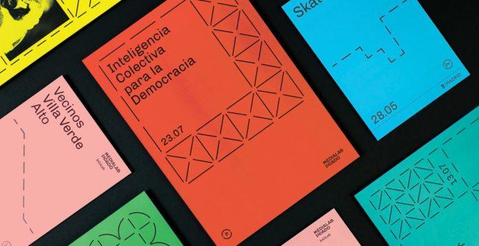 retro branding brand design brand identity mondrian primary colors bauhaus swiss school