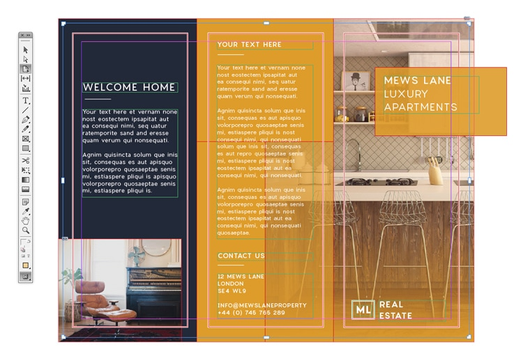 Tri Fold Brochure Free Indesign Template