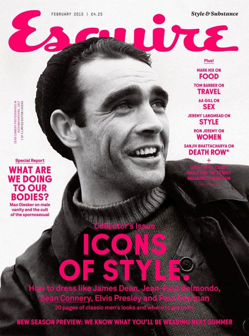 fonts magazine covers design esquire